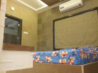 Mr. Kirit Kumar Rustic style bedroom by i'studio creative Rustic