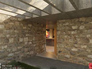 TREE HOUSE Casas rústicas por STUDIO LUIZ VENEZIANO Rústico
