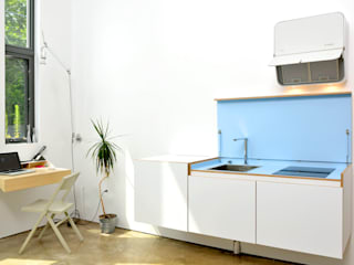 Mini Craven: minimalistic Kitchen by Linebox Studio