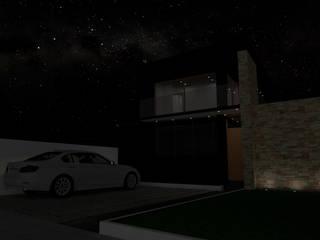Casa Quilpue Gen Arquitectura & Diseño Casas estilo moderno: ideas, arquitectura e imágenes Madera Negro