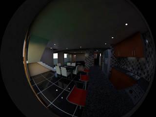 Casa Quilpue Gen Arquitectura & Diseño Cocinas de estilo moderno Cerámico Gris