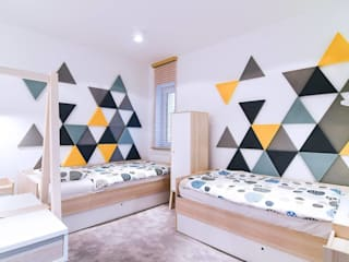 Nursery/kid's room by AS Design Wnętrza,