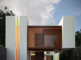 Casa Viento : Casas de estilo  por Fermin de la Mora