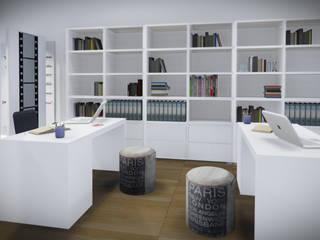 Studio di grafica e fotografia Avallone - Salerno: Studio in stile  di valentina cirillo architetto