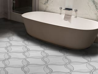 Marquise: modern Bathroom by Elalux Tile