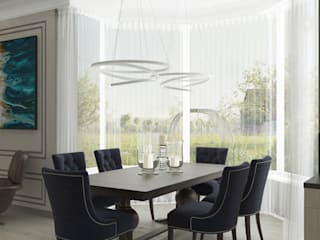 Eclectic style dining room by 'PRimeART' Eclectic