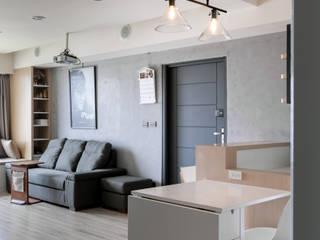 Skandinavische Wohnzimmer von 思維空間設計 Skandinavisch