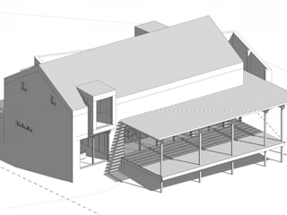 2015#01 Cottage - Kidd's Beach:  Houses by Architects Unbound (Pty) Ltd.