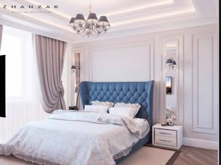 Дизайн квартиры: Спальни в . Автор – ESKANDER ZHANZAK