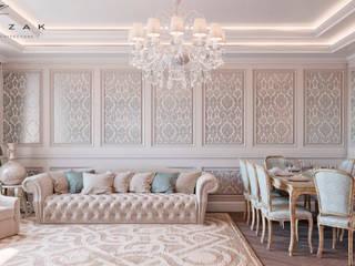 Дизайн квартиры: Гостиная в . Автор – ESKANDER ZHANZAK