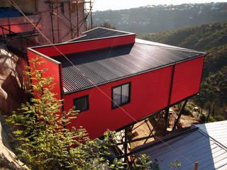 Arq2g Maisons modernes Rouge