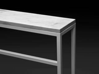 White collection CARRARA od NewLab Pracownia Projektowa Minimalistyczny