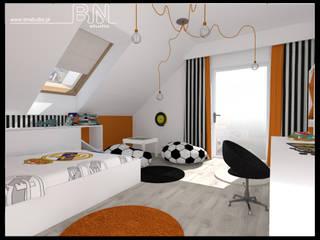 Willa Radziechowy: styl , w kategorii Pokój dziecięcy zaprojektowany przez BN STUDIO Barbara Wójcik,