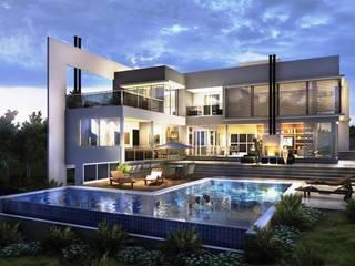 Casa PA: Casas  por Studio X Arquitetura e Planejamento