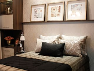 Projetos de Interiores - Apartamento:   por Gabriella Roza Arquitetura e Interiores,Clássico