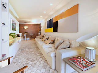 Coutinho+Vilela Living room Wood Grey