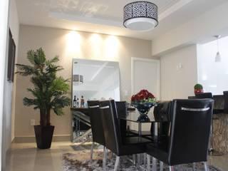 Projetos de Interiores - Apartamento:   por Gabriella Roza Arquitetura e Interiores,Moderno