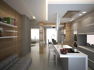 Cocinas modernas: Ideas, imágenes y decoración de olivia Sciuto Moderno
