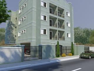 Residencial Botucatu/SP: Casas  por Santos e Delgado Arquitetura e Construções