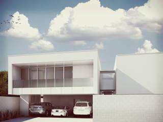 Casas de estilo minimalista de Estudio Volante Minimalista