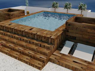 Modern Pool by M4X Modern