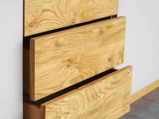 Sideboard aus Eiche: modern  von Schreinerei Hermann Hölzlein,Modern