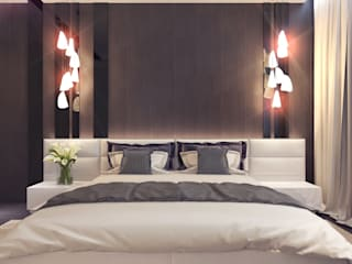 Your royal design Minimalist bedroom Brown