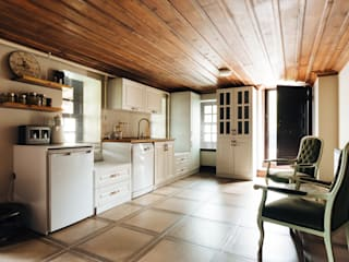 Bilgece Tasarım – Aslı& Şamil Keser konut :  tarz Mutfak