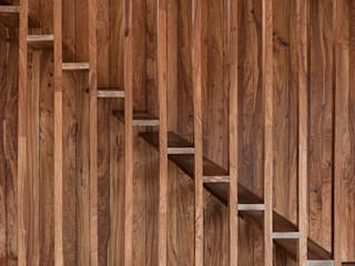 Wonen boven het maaiveld:  Woonkamer door ARCHITECTUURBUREAU project.DWG