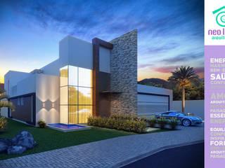 Modern Houses by NEO LINEA arquitetura criativa Modern