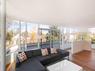 غرفة المعيشة تنفيذ dpai architecture inc