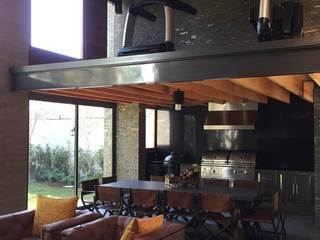 Gimnasios domésticos modernos: Ideas, imágenes y decoración de Taller Luis Esquinca Moderno