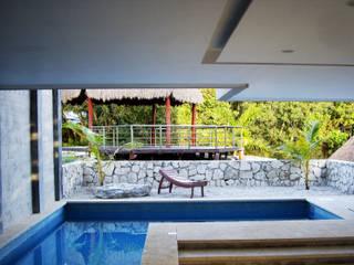 Alberca: Albercas de estilo  por VOLEVA arquitectos