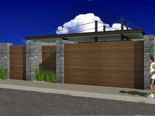 Acceso : Casas de estilo  por VOLEVA arquitectos