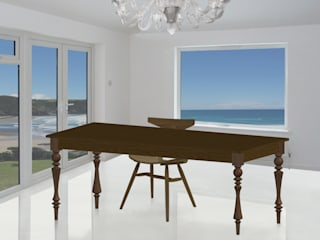 KQDT Dining Table:   by M Furniture Design