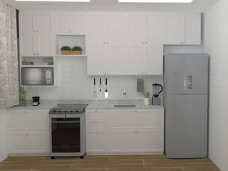 Moderne Küchen von Amplo Criativo Modern