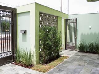 Pz arquitetura e engenharia Garasi Minimalis Green