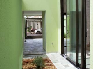 Jardines de invierno de estilo  por Pz arquitetura e engenharia