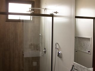 Minimalist bathroom by Pz arquitetura e engenharia Minimalist