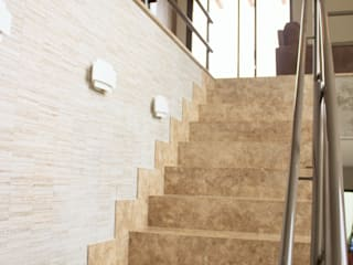 Pz arquitetura e engenharia Koridor & Tangga Minimalis