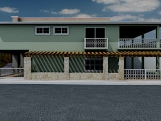 Eclectic style houses by M4X Eclectic