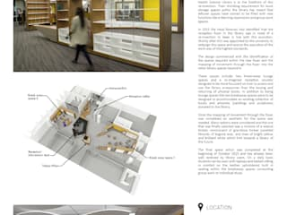 WITS HEALTH SCIENCES LIBRARY RECEPTION: modern  by Architects Of Justice, Modern