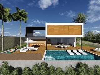 Casa Ibirapitanga:   por Arquitetura Umberê