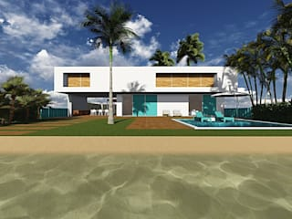 Casa Turquesa:   por Arquitetura Umberê
