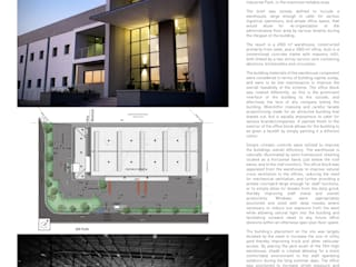 RACEWAY INDUSTRIAL WAREHOUSE & OFFICE: modern  by Architects Of Justice, Modern