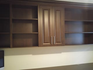 Study/office by Space Age Custom Closets & Cabinetry,