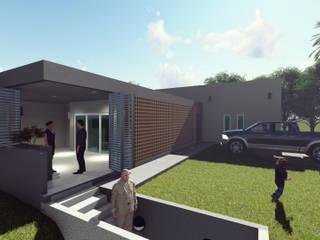 Vista Exterior: Casas de estilo  por Miro Arquitectura y Diseño
