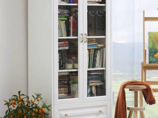 Nowoczesne białe meble z drewna litego - kolekcja Parma Woodica: styl , w kategorii  zaprojektowany przez Woodica