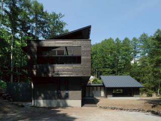 VILLA SILVA |軽井沢の別荘建築: Mアーキテクツ|高級邸宅 豪邸 注文住宅 別荘建築 LUXURY HOUSES | M-architectsが手掛けた家です。,