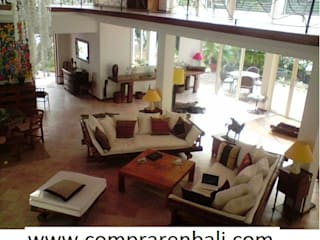 Colonial style living room by comprar en bali Colonial